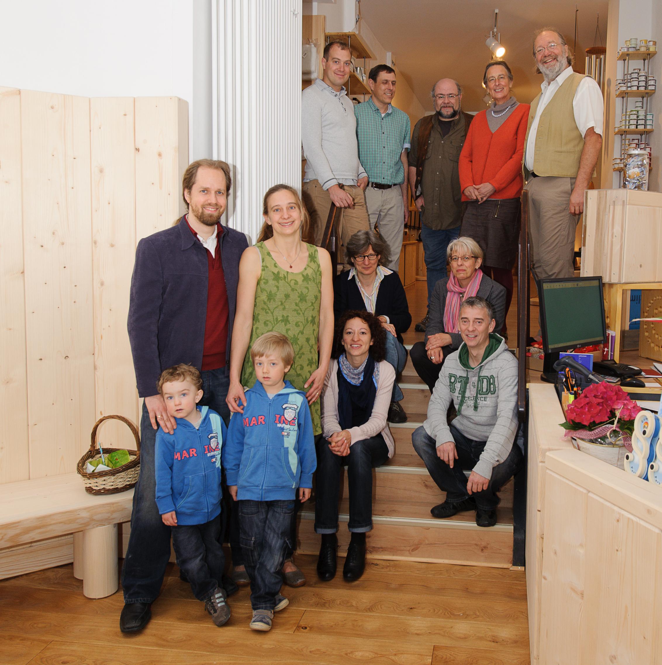 Schuster Holz Team Belegschaft