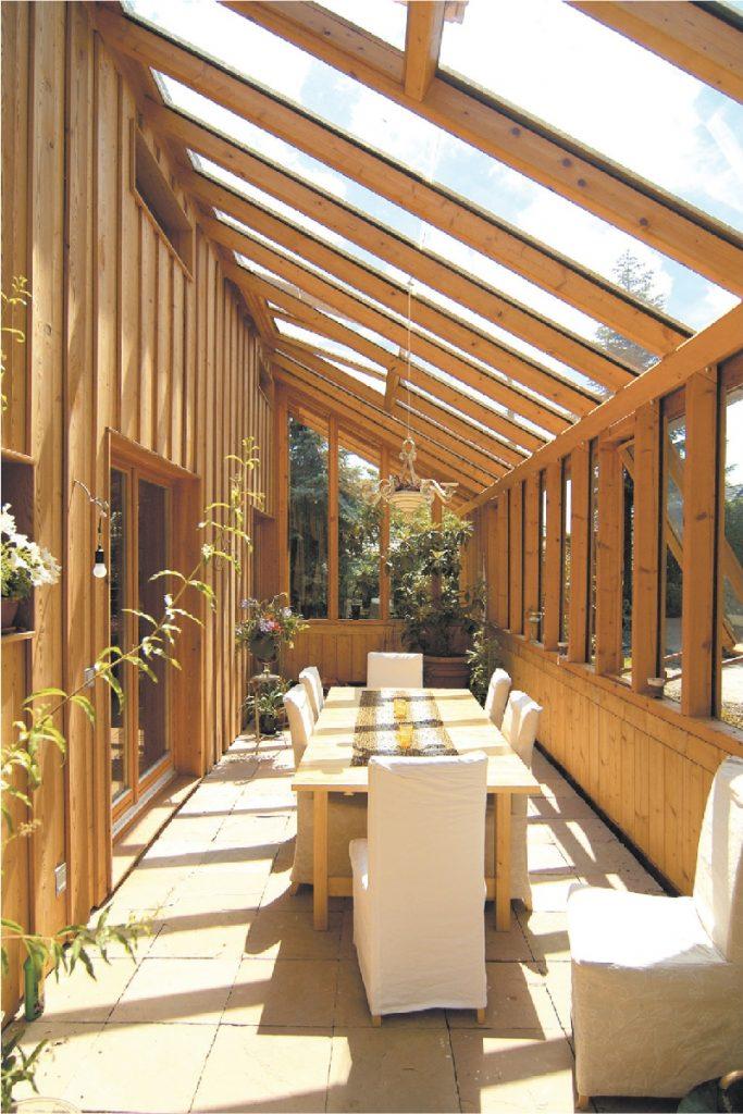 Haus mit Aussicht - Leben zwischen Wintergärten - NaturKraftHaus